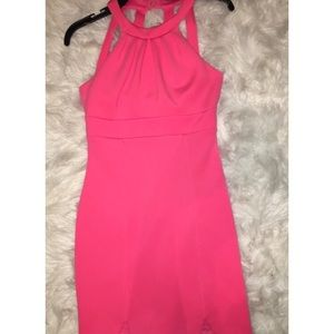 Tight Fitting Hot Pink Cocktail
